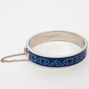 COACH Blue & Silver Bracelet